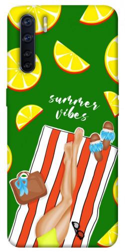 Чехол itsPrint Summer girl для Oppo A91