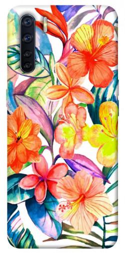 Чехол itsPrint Цветочный коктейль для Oppo A91