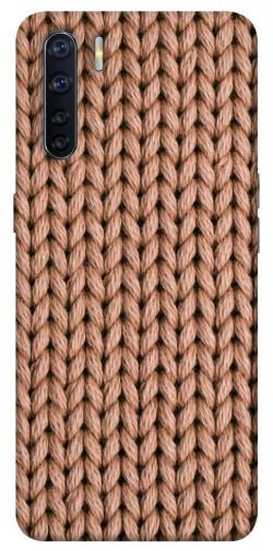 Чехол itsPrint Knitted texture для Oppo A91