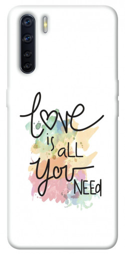 Чехол iPrint Love is all you need для Oppo A91