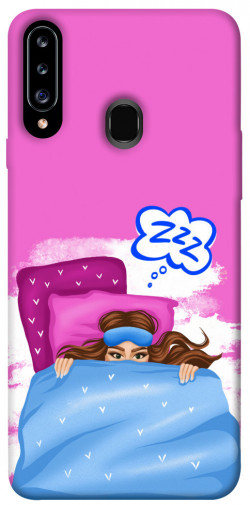 Чехол itsPrint Sleepу girl для Samsung Galaxy A20s