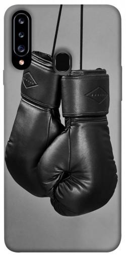 Чехол itsPrint Черные боксерские перчатки для Samsung Galaxy A20s