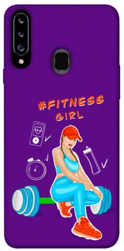 Чехол itsPrint Fitness girl для Samsung Galaxy A20s
