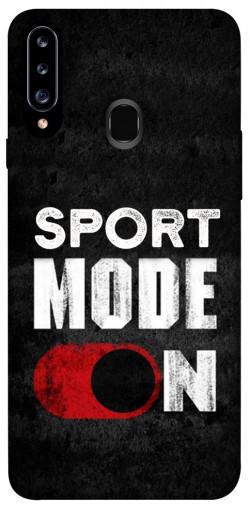 Чехол itsPrint Sport mode on для Samsung Galaxy A20s