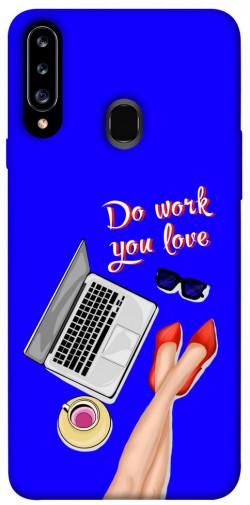 Чехол itsPrint Do work you love для Samsung Galaxy A20s