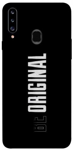 Чехол itsPrint Be original для Samsung Galaxy A20s