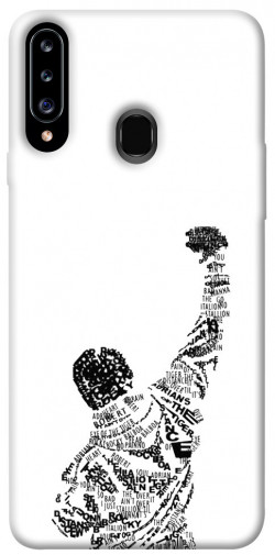 Чехол itsPrint Rocky man для Samsung Galaxy A20s