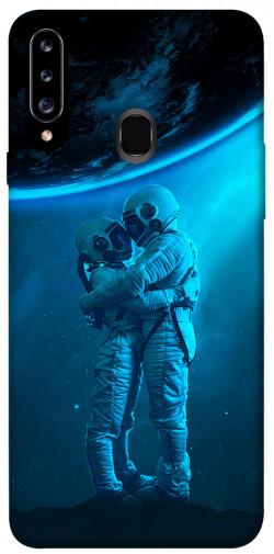 Чехол itsPrint Космическая любовь для Samsung Galaxy A20s
