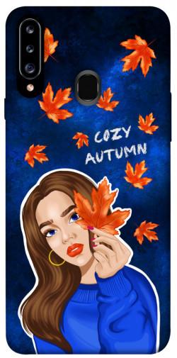 Чехол itsPrint Cozy autumn для Samsung Galaxy A20s