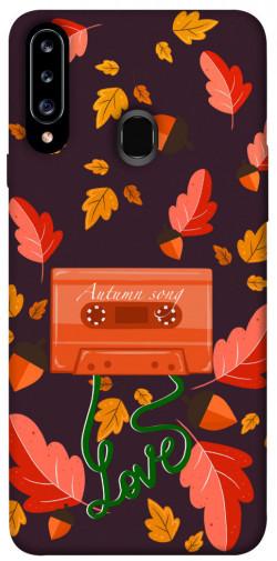 Чехол itsPrint Autumn sound для Samsung Galaxy A20s