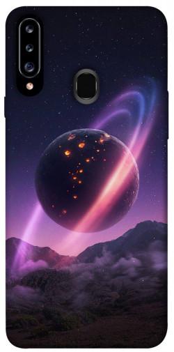 Чехол itsPrint Сатурн для Samsung Galaxy A20s