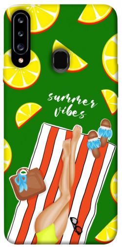 Чехол itsPrint Summer girl для Samsung Galaxy A20s