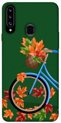 Чехол itsPrint Осенняя прогулка для Samsung Galaxy A20s