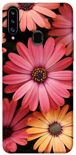 Чехол itsPrint Осенние цветы для Samsung Galaxy A20s