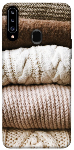 Чехол itsPrint Knitted aesthetics для Samsung Galaxy A20s