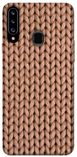 Чехол itsPrint Knitted texture для Samsung Galaxy A20s