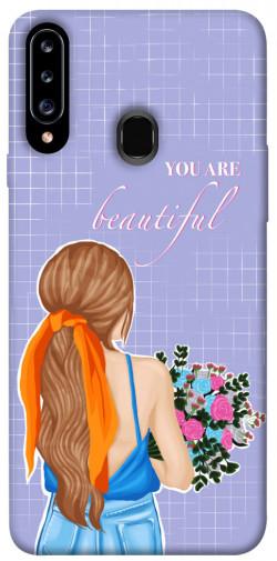 Чехол itsPrint You are beautiful для Samsung Galaxy A20s