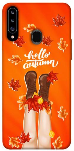 Чехол itsPrint Hello autumn для Samsung Galaxy A20s