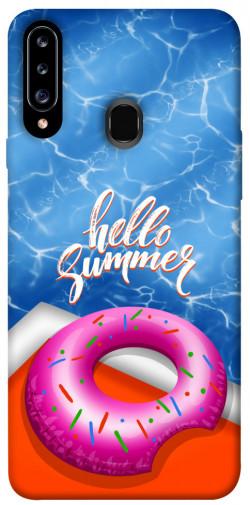 Чехол itsPrint Hello summer для Samsung Galaxy A20s