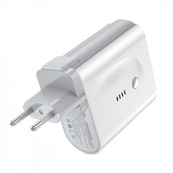 СЗУ + Power Bank Joyroom D-T189 (USB/Type-C) 5000 mAh
