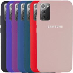 Чехол Silicone Cover Full Protective (AA) для Samsung Galaxy Note 20
