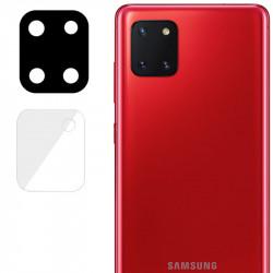 Гибкое защитное стекло 0.18mm на камеру (тех.пак) для Samsung Galaxy Note 10 Lite (A81)