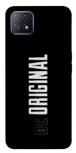 Чехол itsPrint Be original для Oppo A73