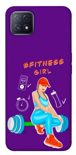 Чехол itsPrint Fitness girl для Oppo A73