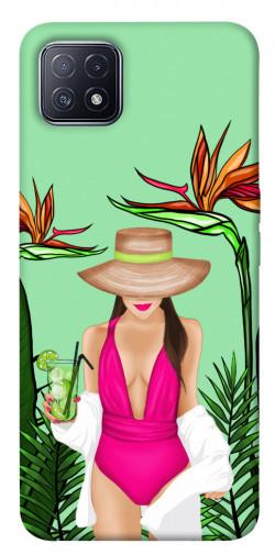 Чехол itsPrint Tropical girl для Oppo A73