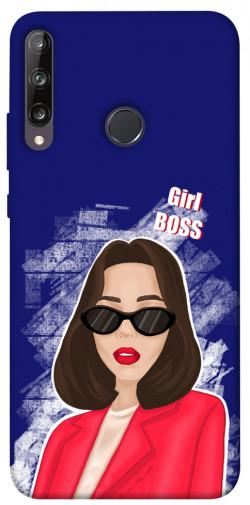 Чехол itsPrint Girl boss для Huawei P40 Lite E / Y7p (2020)