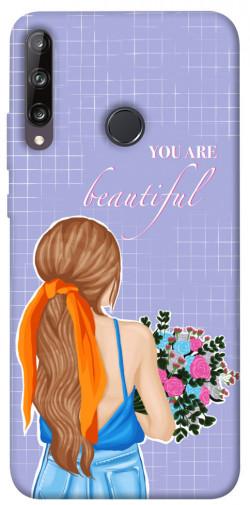 Чехол itsPrint You are beautiful для Huawei P40 Lite E / Y7p (2020)