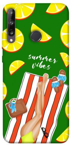 Чехол itsPrint Summer girl для Huawei P40 Lite E / Y7p (2020)