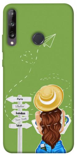 Чехол itsPrint Travel girl для Huawei P40 Lite E / Y7p (2020)