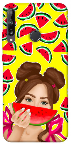 Чехол itsPrint Watermelon girl для Huawei P40 Lite E / Y7p (2020)