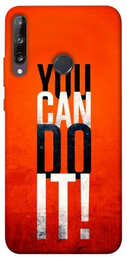Чехол itsPrint You can do it для Huawei P40 Lite E / Y7p (2020)