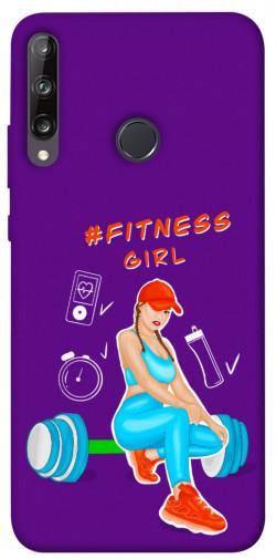 Чехол itsPrint Fitness girl для Huawei P40 Lite E / Y7p (2020)