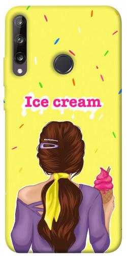 Чехол itsPrint Ice cream girl для Huawei P40 Lite E / Y7p (2020)