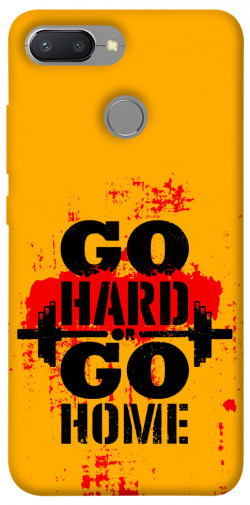 Чехол itsPrint Go hard для Xiaomi Redmi 6
