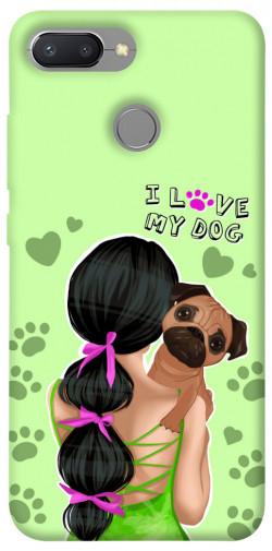 Чехол itsPrint Love my dog для Xiaomi Redmi 6
