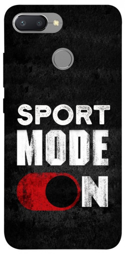 Чехол itsPrint Sport mode on для Xiaomi Redmi 6