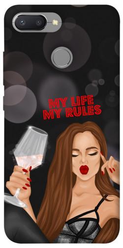 Чехол itsPrint My life my rules для Xiaomi Redmi 6