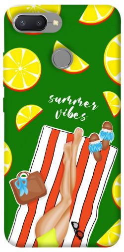 Чехол itsPrint Summer girl для Xiaomi Redmi 6