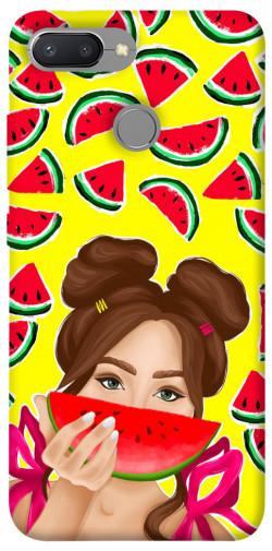 Чехол itsPrint Watermelon girl для Xiaomi Redmi 6