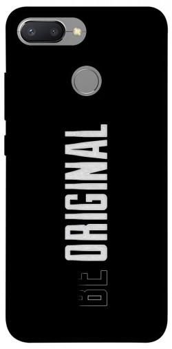 Чехол itsPrint Be original для Xiaomi Redmi 6