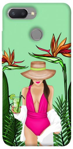 Чехол itsPrint Tropical girl для Xiaomi Redmi 6