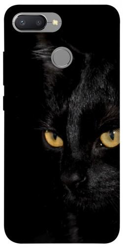 Чехол itsPrint Черный кот для Xiaomi Redmi 6