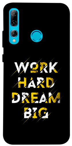 Чехол itsPrint Work hard для Huawei P Smart+ 2019