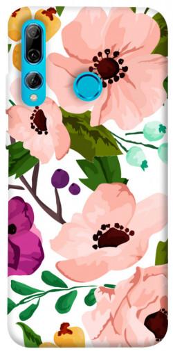 Чехол itsPrint Акварельные цветы для Huawei P Smart+ 2019