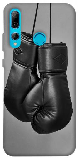 Чехол itsPrint Черные боксерские перчатки для Huawei P Smart+ 2019