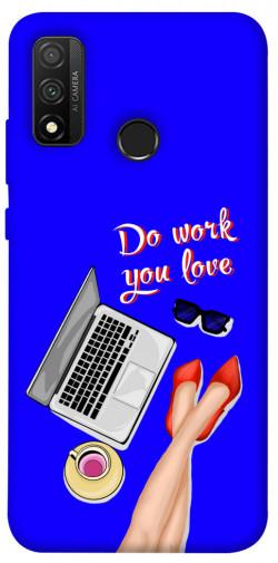 Чехол itsPrint Do work you love для Huawei P Smart (2020)